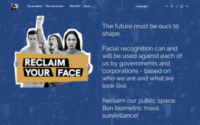 ECI for the ban on biometric mass surveillance practices