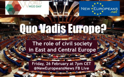Quo vadis? The role of civil society in East and Central Europe
