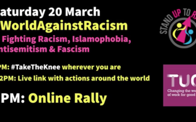 World against Racism -Saturday 20 March