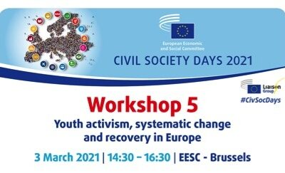 EESC Civic Society Days  – WORKSHOP 5 Youth activism