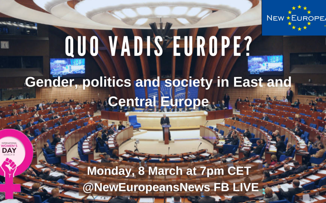 Quo vadis? – Special event for INTERNATIONAL WOMEN'S DAY, 8 March